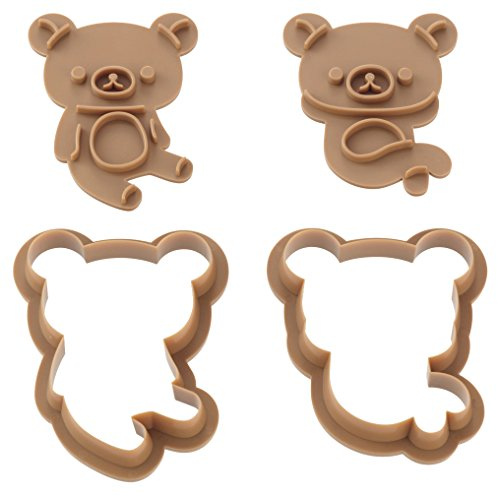 Cookie punching mold set Rilakkuma DN0202 by Kai