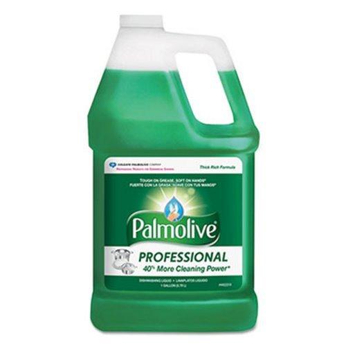 PALMOLIVE Dishwashing Liquid, Dish Liquid Soap, Dish Soap, Phosphate Free, pH Balanced, Dishwasher Cleaner, 1 Gallon Bottle (Pack of 4) (204915)