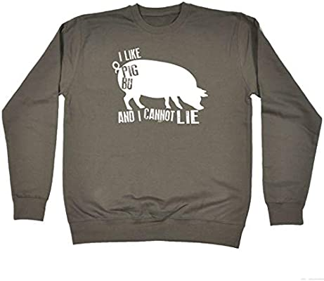 I Like Pig Butts Toddler Unisex Cotton Long Sleeve Round Neck Pullover