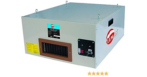 Leman ASP018 - Sistema de filtro de aire del polvo, de madera: Amazon.es: Bricolaje y herramientas