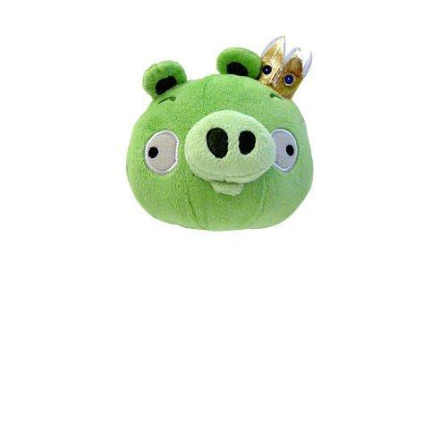 Angry Birds 5 inch Plush - Green King Pig (King Green Pig)