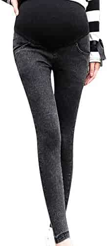 7330d6a1781c3 Womens Maternity Skinny Jeans Denim Pants Stretch Soft Support Pregnancy  Leggings Jeggings Nursing Clothes