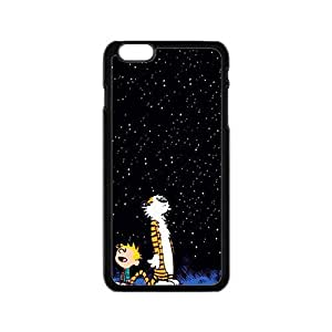 Dark night star boy and tiger Cell Phone Case for Iphone 6