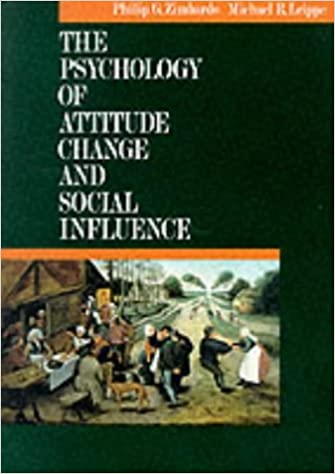 Amazon the psychology of attitude change and social influence the psychology of attitude change and social influence 1st edition fandeluxe Image collections