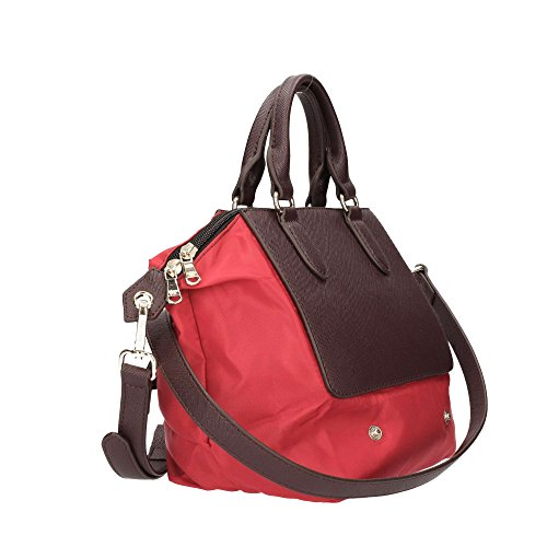 PATRIZIA PEPE Borsa Shopping Mini 2V6580 Red Nylon/Brown