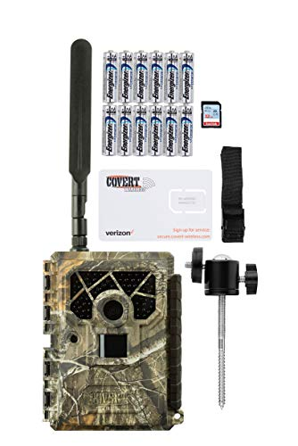 Covert Blackhawk Verizon 4G LTE Trail Camera with Batteries, SD Card, and Mount