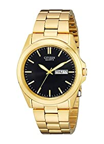 Citizen Men's BF0582-51F Analog Display Japanese Quartz Gold Watch