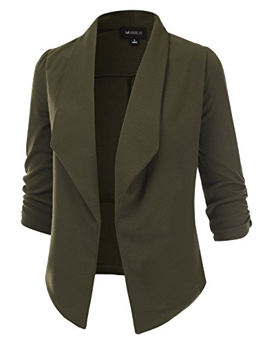 Doublju-Classic-Draped-Open-Front-Blazer-For-Women-With-Plus-Size