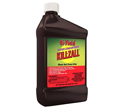Glyphosate 41% Herbicide Conc Surfactant 1 Qt Weed Grass Brush Killer Mks 12 Gl Not For Sale To: CALIFORNIA by Hi-Yield