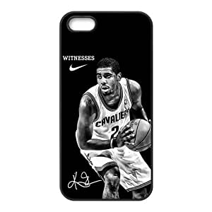 CBRL007 Customize NBA Cleveland Cavaliers MISTER Kyrie Irving #2 iPhone 5 5s Case Cover ,Plastic Shell Perfect Protector Cases Gift Idea for Fans