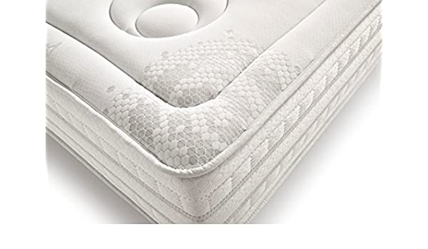 Living Sofa SIMPUR Relax | COLCHON VISCO ARGENTUM® Libre DE Campos MAGNÉTICOS 90X190 | 25 CM Grosor Hilo DE Plata ARGENTUM® | FIRMEZA EXCELENTE | Ideal para ...