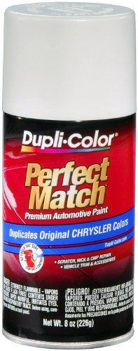 Dupli-Color EBCC03627 Bright White Chrysler Perfect Match Automotive Paint - 8 oz. Aerosol