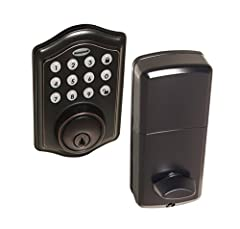 Honeywell electronic digital deadbolts feature traditional key access as well as the ability to unlock with a Programmable 4 to 8 digit user code (keyless entry). These Honeywell locks allow the owner to program up to 50 different user codes ...