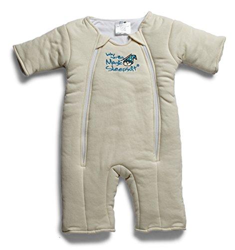 Baby Merlin's Magic Sleepsuit Cotton - Cream - 6-9 mo