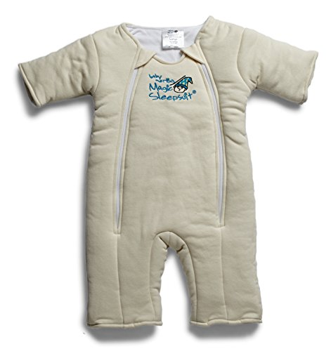 Baby Merlin's Magic Sleepsuit - Swaddle Transition Product - Cotton - Cream - 6-9 Months ()