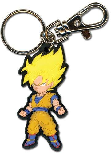 Goku Keychain - Great Eastern Entertainment Dragon Ball Z SS Goku PVC Keychain