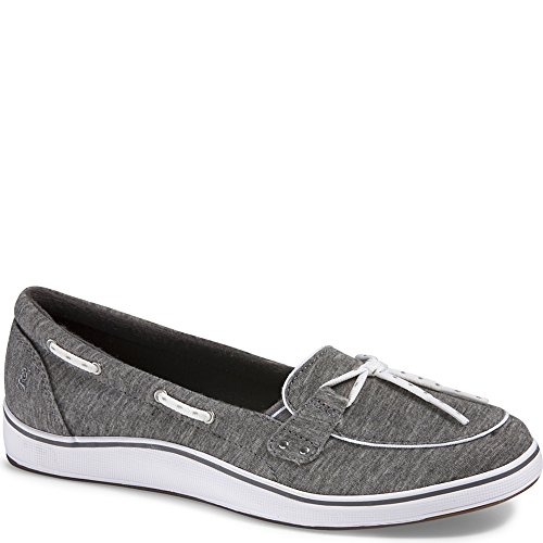 Grasshoppers Windham Slip-ONS, Heather Gray, 10N