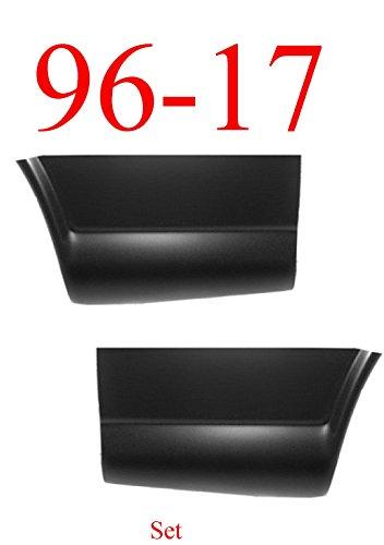 96-17 Chevy Express Rear Quarter Bottom Bed Patch Set