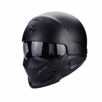 Scorpion EXO COMBAT Matt Motorcycle Helmet, Black, Size L Scorpion Helmets 2571_26317