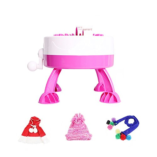 Funwill Child Knitting Machine Yarn Child Machine Knitted Sweater Girl Boy Gift DIY Hat Toy Fashion Craft Sweater Circular Knitting - Quick Knit Loom Easy to Use by Funwill