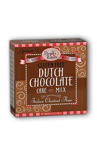 Dowd & Rogers Gluten Free Cake Mix, Dutch Chocolate, 14.5 Ounce