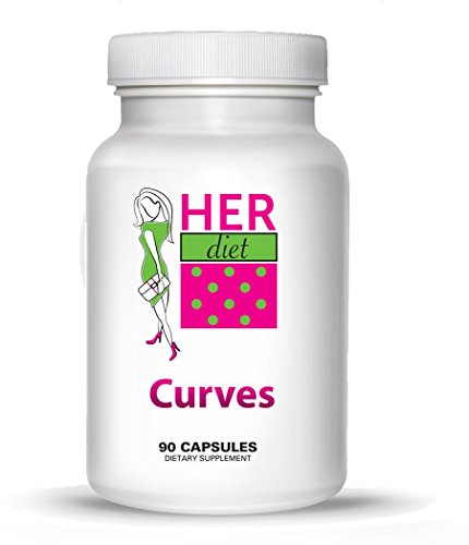 HERdiet Curves for Women Breast Size Enhancement Pills for Fuller Larger Breasts without Surgery. Curves is All Natural and Safe!