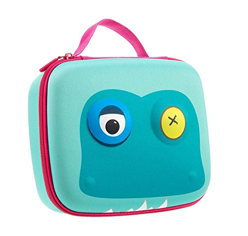 ZIPIT Beast Lunch Box, Light Blue