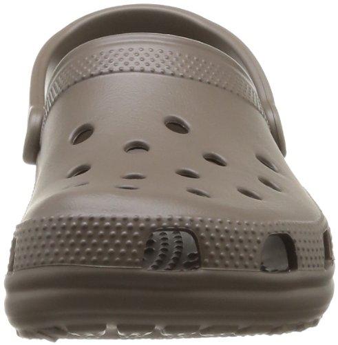 crocs Classic - Zuecos de material sintético unisex Gris (Pewter)