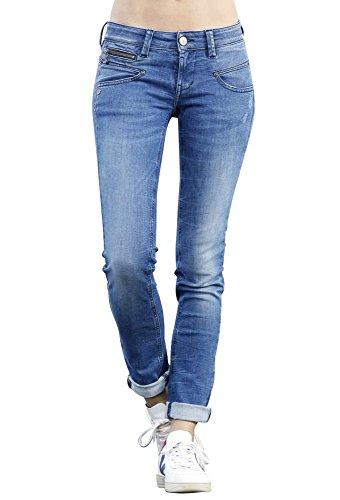 Freeman T Porter Jeans - Slim - Femme Bleu Nego