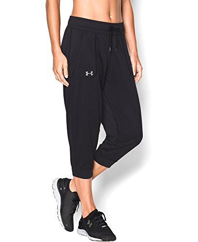 Under Armour Women's Tech Capri, Black (001), Medium (Under Armour Capri Pants compare prices)
