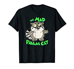 Pallas Cat Books The Mad Pallas Cat T Shirt