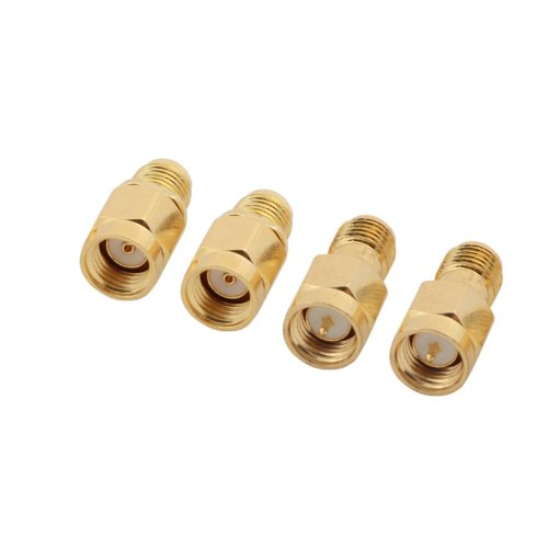 4PCS 5.8G SMA Female/Male Antenna Connector for RC Aircraft FPV - 1