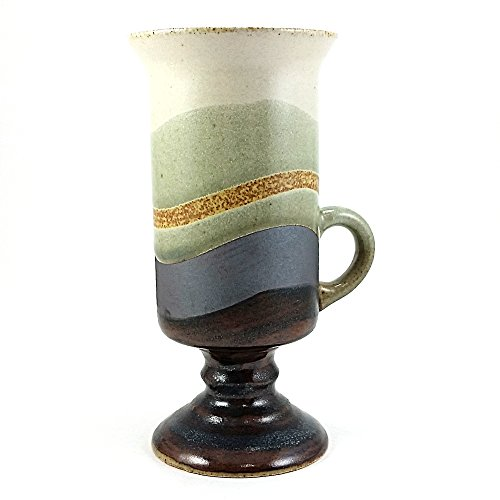 Stoneware Pedestal Irish Coffee Mug - Pedestal Irish Coffee Mugs