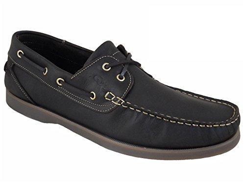 Quayside Torbay Zapatos Náuticos/mocasín De Cuero Para Hombre Marrón