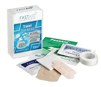 Fast Aid Travel First Aid Kit (Box of 6), (Price inclusive