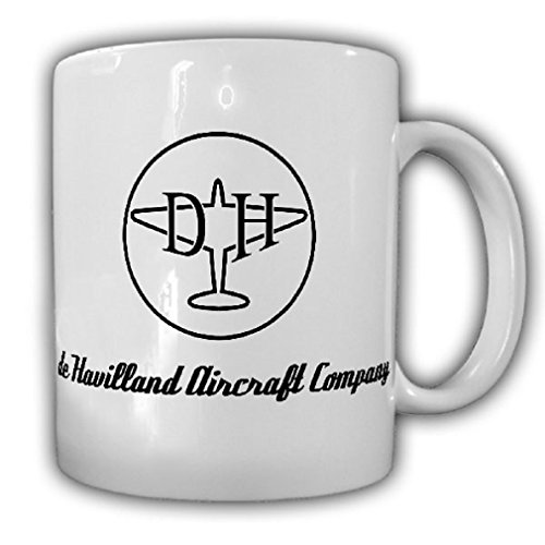Havilland Aircraft Company logo emblem badge airplane company England - Coffee Cup Mug