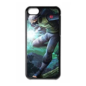 iPhone 5c Black Cell Phone Case Naruto TGKG596149