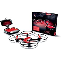 Fuse X22 Titanium Quadcopter Drone with Live-View WiFi Streaming FPV HD Camera | Extra Battery Doubles Flying Time | 2.4GHz 4 CH 6-Axis Gyro| Easy to Fly for Beginners & Experts | Altitude Hold | RTF
