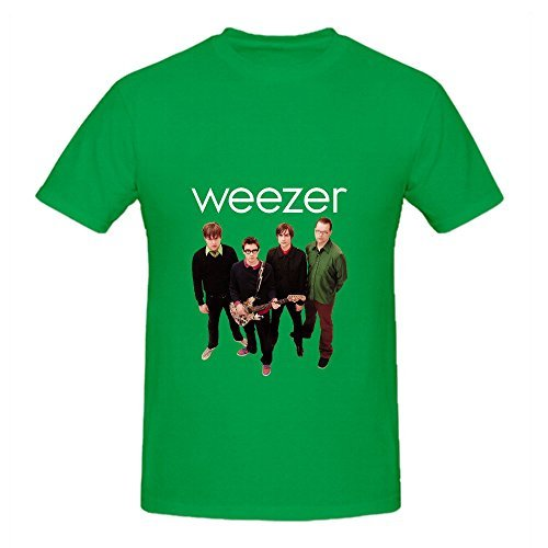 Weezer (the Green Album) Soul Men Round Neck Cute Tee
