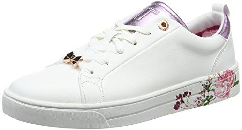 Femme Giellip Ted white Baskets ffffff serenity Baker Blanc t6qxqFn