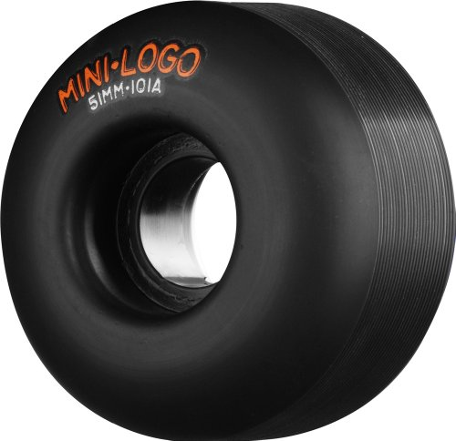 Mini-Logo Skateboards C-Cut 53mm 101A Skateboard Wheel, Black