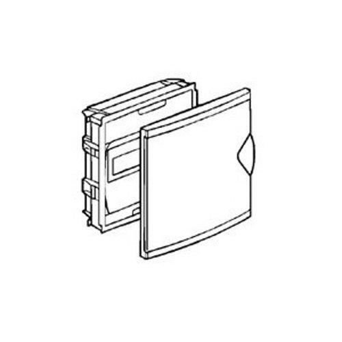 Legrand LEG01410 Coffret mini encastré porte isolante Blanc ZA-2166 Protection tableau coffret encastré