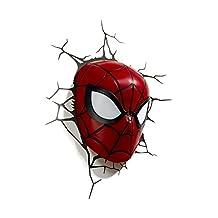 3D Light FX Marvel Spider-Man 3D-Deco LED Wall Light