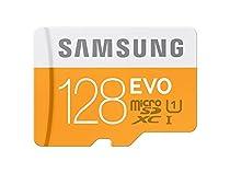 Samsung 128GB EVO Class 10 Micro SDXC Card with Adapter up to 48MB/s (MB-MP128DA/EU)