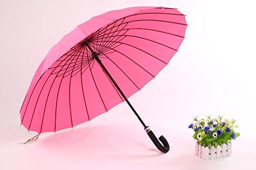 ZQ@QXOmbrelloni ombrelloni sovradimensionato ombrello per la protezione solare , rosa