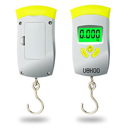 UOKOO Digital Luggage Scale - Handheld Electronic LCD Portable Travel Suitcase Scale, 110 lbs (Digital Suitcase Scale compare prices)