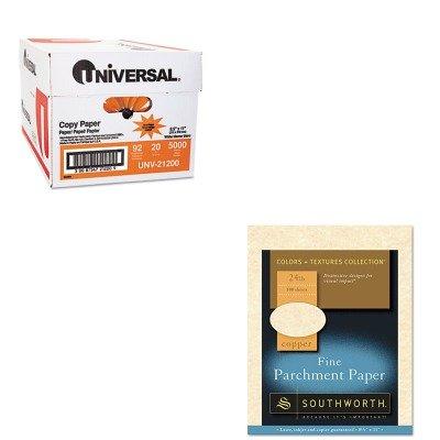 KITSOUP894CK336UNV21200 - Value Kit - Southworth Parchment Specialty Paper (SOUP894CK336) and Universal Copy Paper (UNV21200)