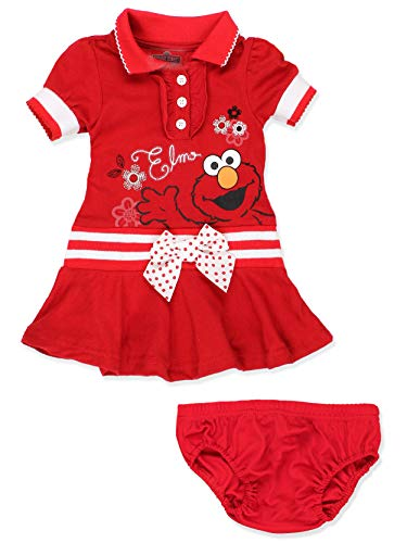 Elmo Girl Clothes - Sesame Street Elmo Baby Toddler Girls