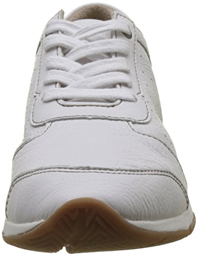 Hush Puppies Perf Oxford, Sneaker Donna Bianco (Blanc)