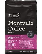 MONTVILLE COFFEE Sunshine Coast Blend Plunger Ground Coffee 250 g,  250 g